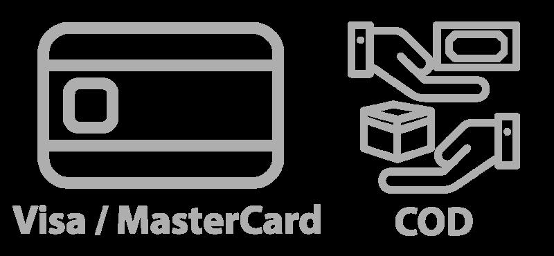 visa mastercard cod